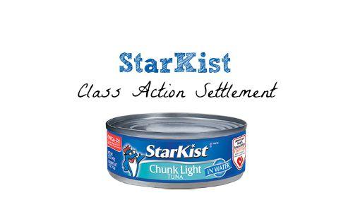 starkist class action settlement