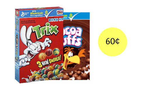target cereal deal