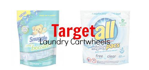 target laundry cartwheels
