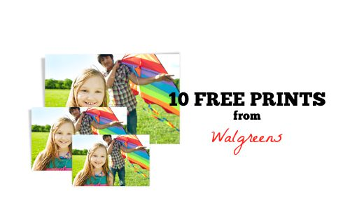 walgreens photo code 10 free prints