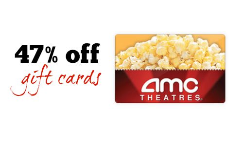 amc theatre gift card amc theaters gift card 47 off southern savers 1483