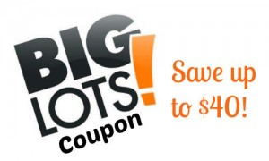 big lots coupon