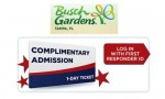 Busch Gardens | Free Admission For First Responders