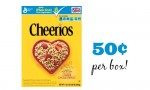 General Mills Cereal Coupon | Cheerios for 50¢