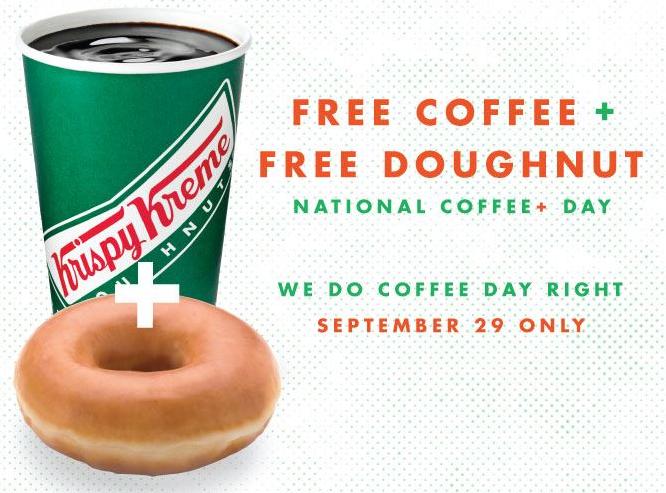 coffee doughnut deal