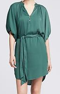drape shirtdress