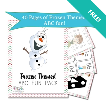 frozen theme packet