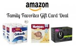 Amazon | Family Favorites Gift Card Deal