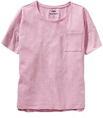girls pocket tee