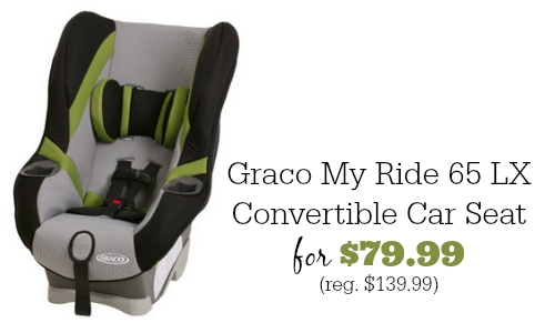 If Your Child Needs A New Car Seat There Is Great Deal On Amazon Today You Can Get The Graco My Ride 65 LX Convertible For 7999 Reg
