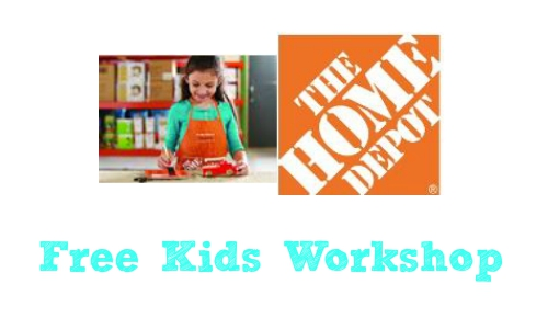 Home Depot: Free Kids Workshop