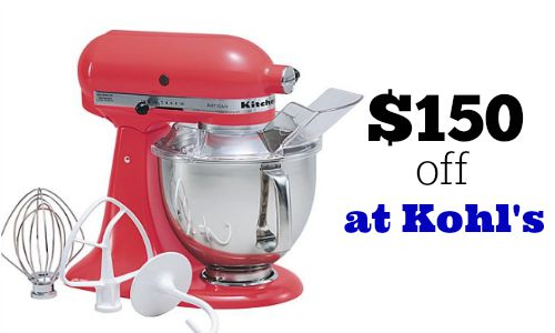 kitchen aid mixer $199