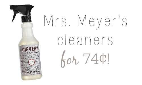 mrs. meyers cleaners