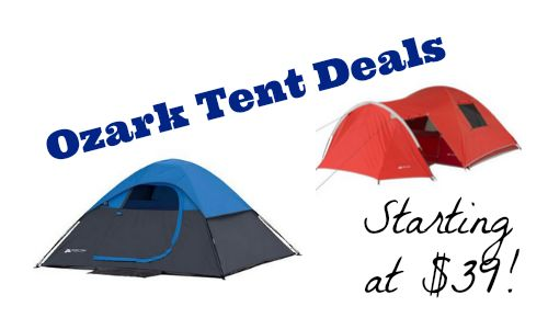 If you plan on c&ing sometime soon or looking for a nice deal on outdoor items check out this deal at Walmart on Ozark tent bundles.  sc 1 st  Southern Savers & Walmart Deal: Ozark Tent Bundles Starting At $39 :: Southern Savers