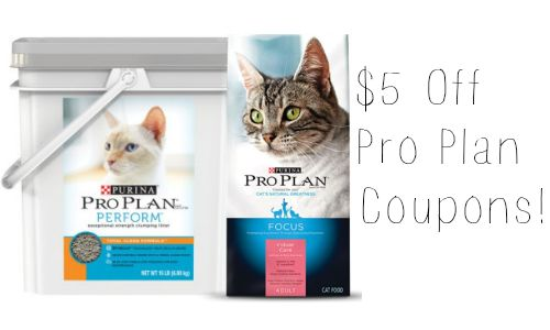 photo about Purina Pro Plan Printable Coupons known as $5 Off Purina Specialist System Discount coupons :: Southern Savers