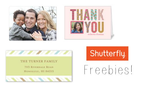 shutterfly freebies