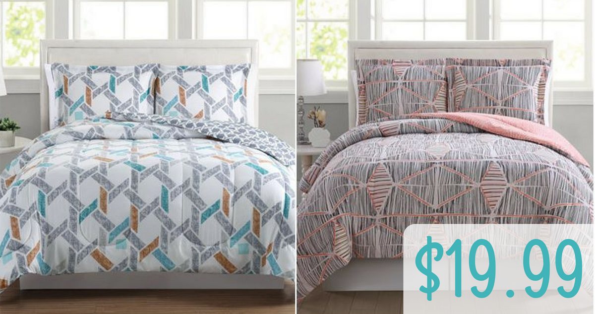 Macy S Deal 3 Pc Comforter Sets 19 99 Reg 80