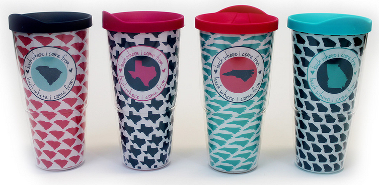 Mary Square Tumblers