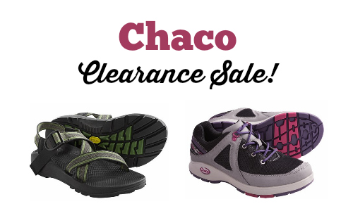 chaco sale