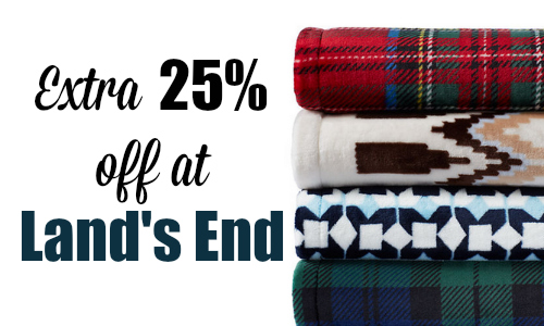 Lands end coupons 25 off
