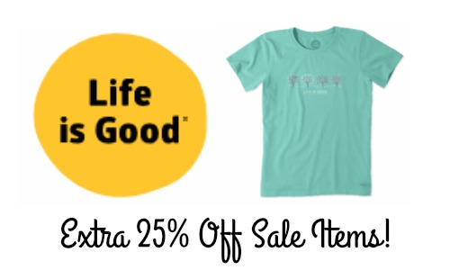 life is good sale