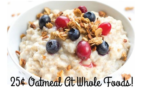 oatmeal deal