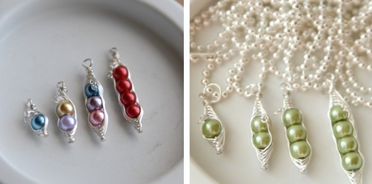pea necklace