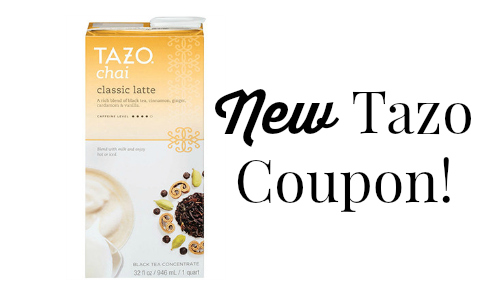 tazo coupon