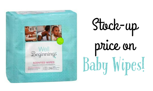 well beginnings wipes coupon
