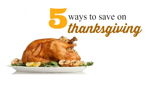 5 ways to save on thanksgiving