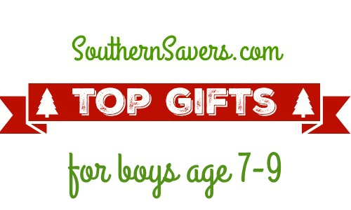Before you start your Christmas shopping, check out the top deals for boys age 7-9.