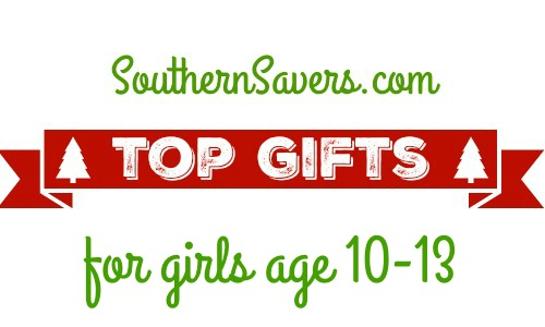 Check out the top gift ideas for girls age 10-13.