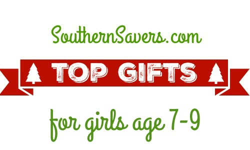 Here are the top 10 gift for girls age 7-9 to help you get a head start on Christmas lists.