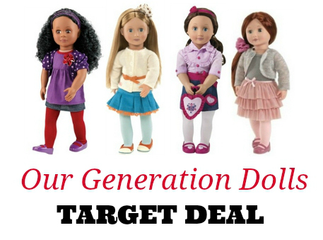 our generation dolls target coupons