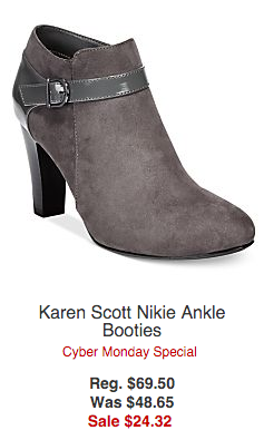 bogo boots and booties at macy's