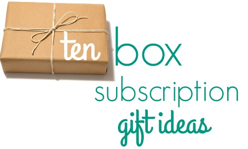 box subscription gift ideas