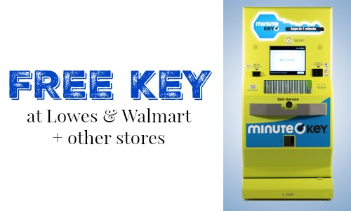 Key Maker Walmart >> Free Minute Key Coupon At Lowes Walmart Southern Savers