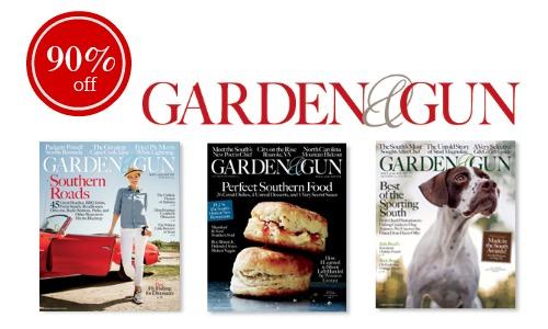 garden & gun magazine deal