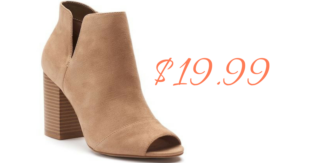 Ankle Boots, $19.99 :: Southern Savers