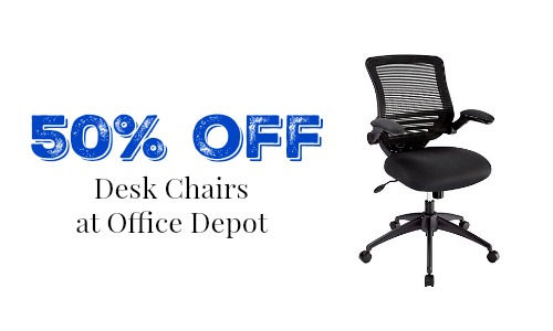 office depot desk chairs  sc 1 st  Southern Savers & Office Depot - 50% off Desk Chairs :: Southern Savers