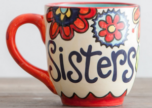sisters jumbo mug
