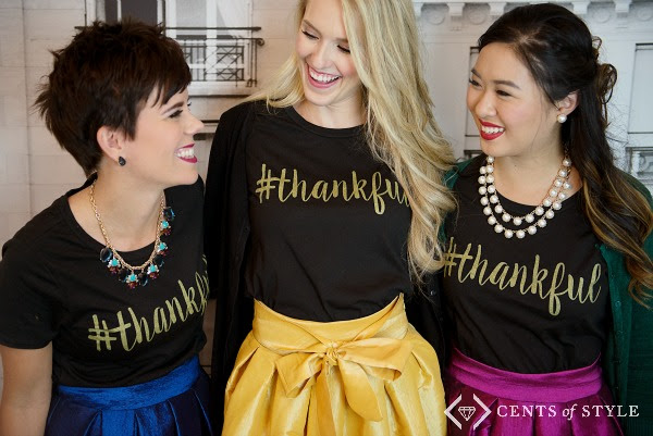 cents of style fashion friday free thankful shirt