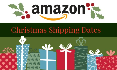 Amazon Christmas Shipping Dates