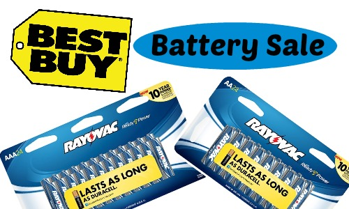 Best Buy Battery Sale