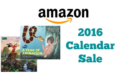 2016 Calendar Sale