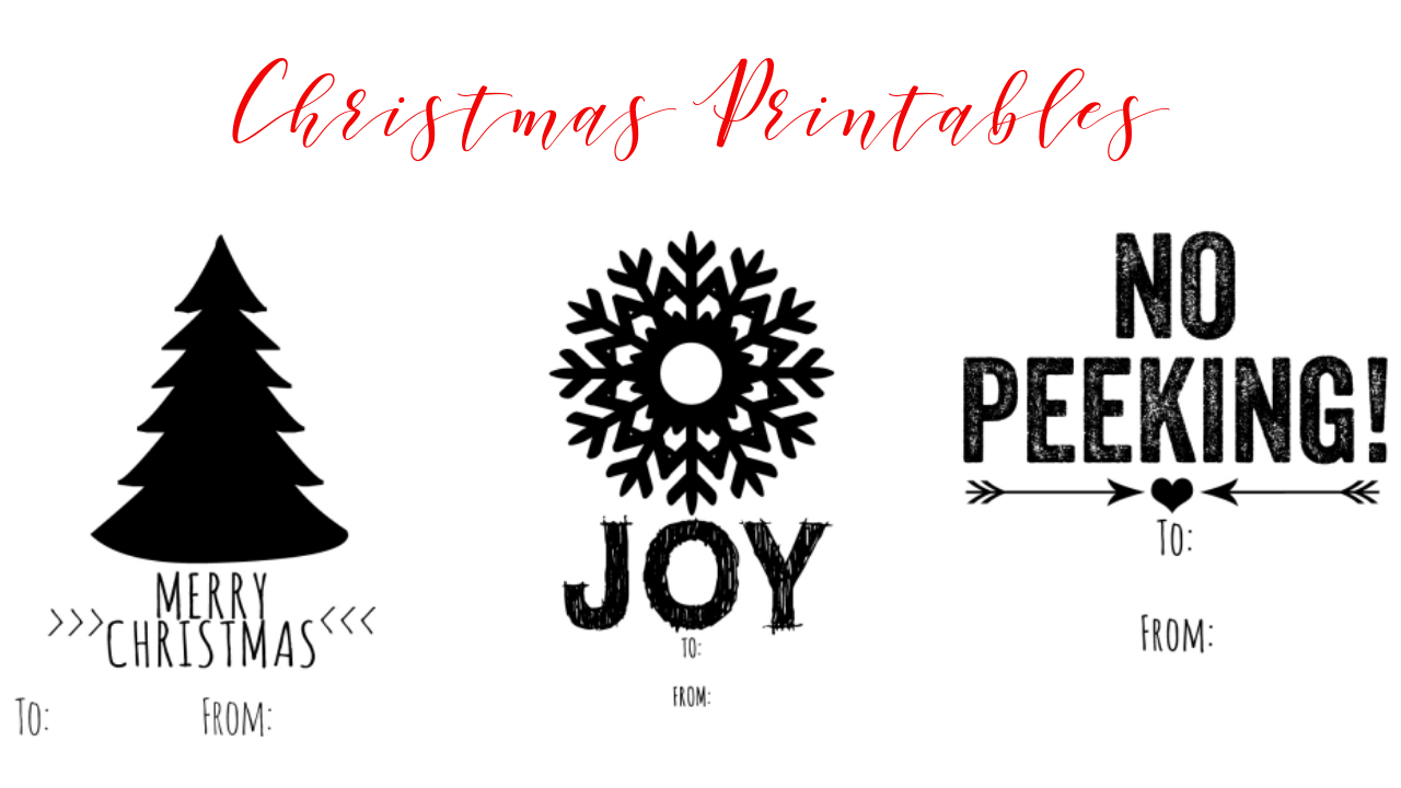 Free Christmas Printables :: Southern Savers