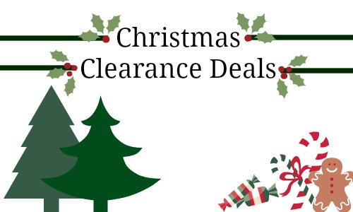 christmas clearance deals toys r us michaels more - Half Price Christmas Decorations Clearance