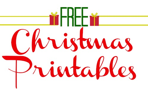 FREE Christmas Printables to use as gifts this year!