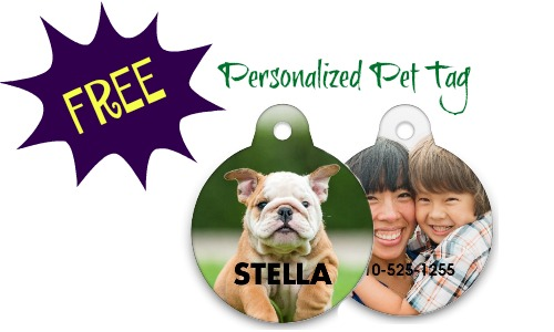 FREE Personalized Pet Tag