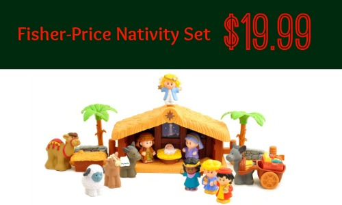 Fisher-Price Nativity Set